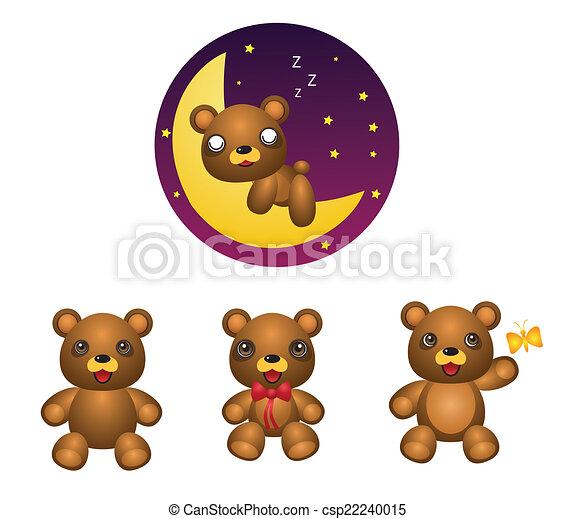 niedźwiedź - csp22240015