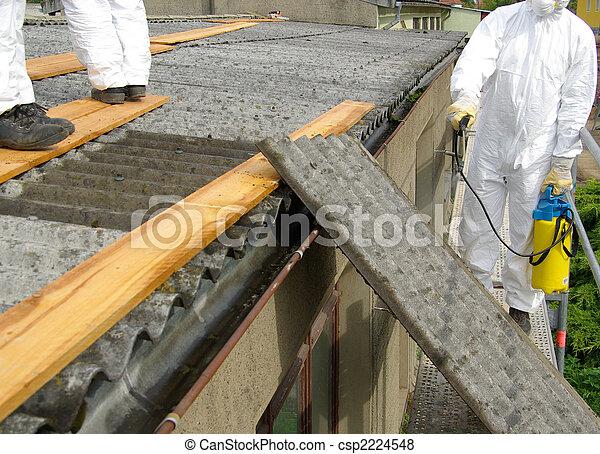 asbestos 06 - csp2224548