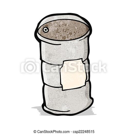 Oil Barrel Drawing Vector Cartoon Oil Barrel