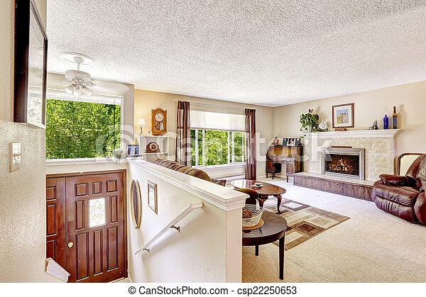 Maison de luxe interieur escalier - Jeu de decoration de maison de luxe ...
