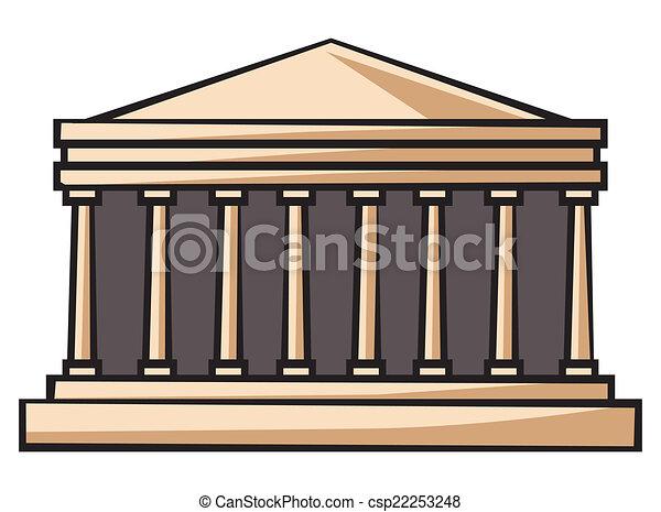 eps vector of parthenon greece csp22253248 search clip Zeus Clip Art Zeus Clip Art