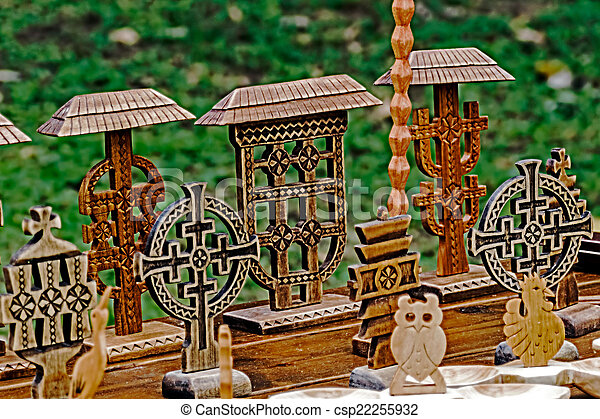 Decorative wooden carved 4