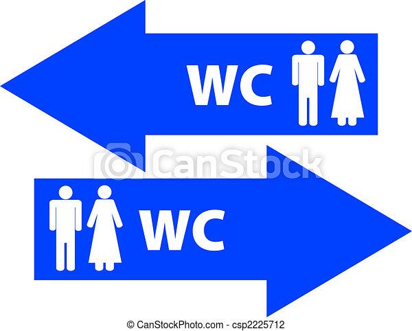 Clipart di wc gabinetto segnicsp2225712 cerca clipart for Wc immagini