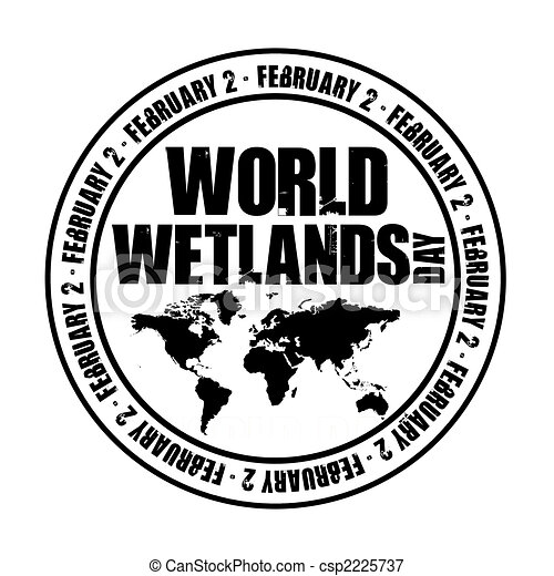 Drawing of Wetlands - Environmental cartoon about ruining the ...
