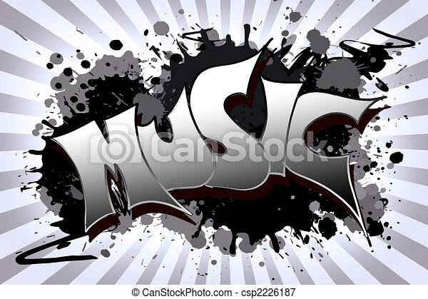 music Grunge - csp2226187