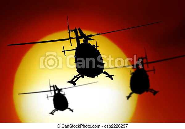 Helicopter - csp2226237