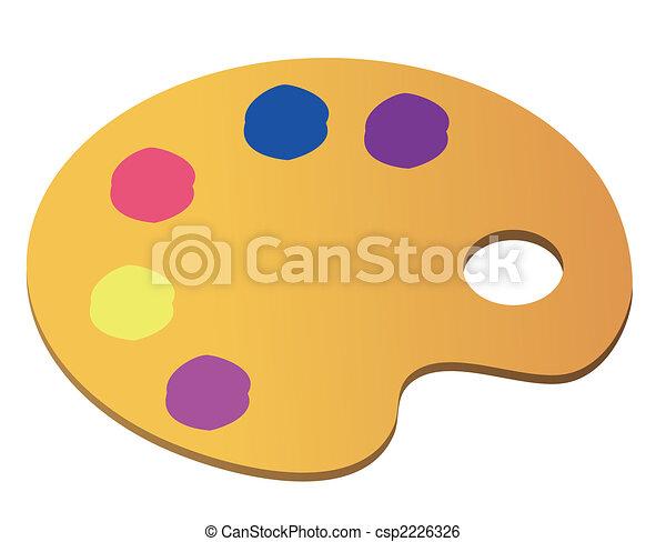 Art palette - csp2226326