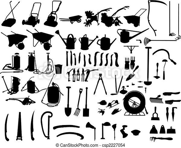 garden instruments - csp2227054