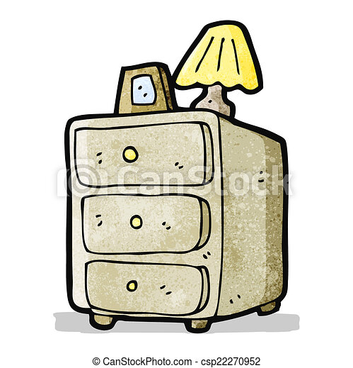 cartoon chest of drawers - csp22270952