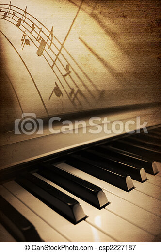 piano elegance - csp2227187