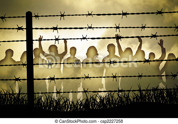 Barbed wire - csp2227258