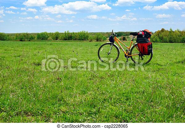 Touring bicycle - csp2228065