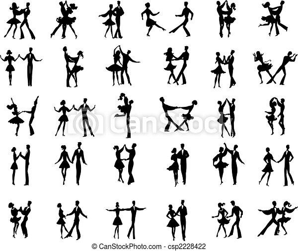 paar dansers gemeenschap in Sneek
