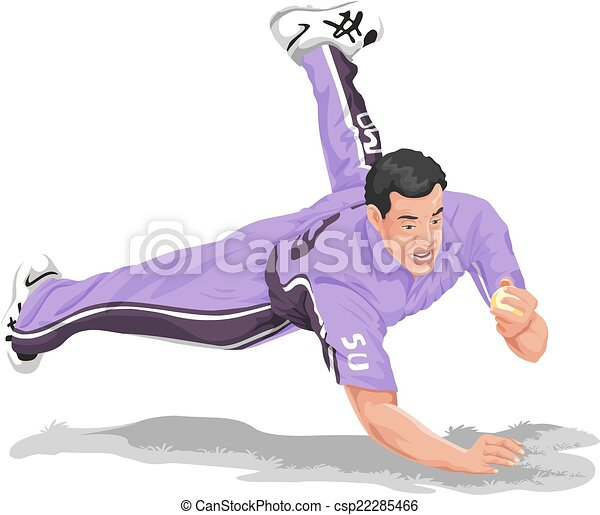 the gallery for gt cricket fielder clipart