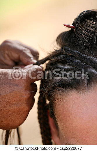plait the braids - csp2228677