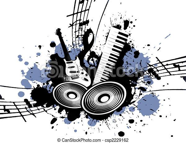 Grunge Music - csp2229162