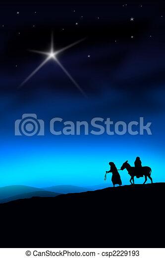 The Christmas Way - csp2229193