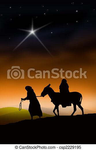 The Christmas Way - csp2229195