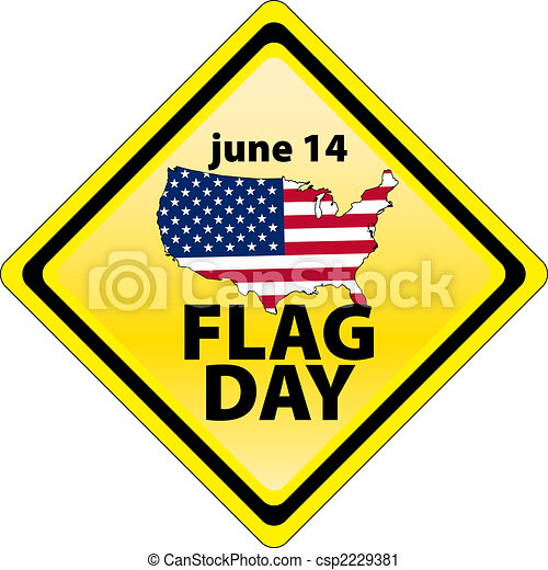 USA flag day - january 14 - USA flag day csp2229381 - Search Clip Art ...