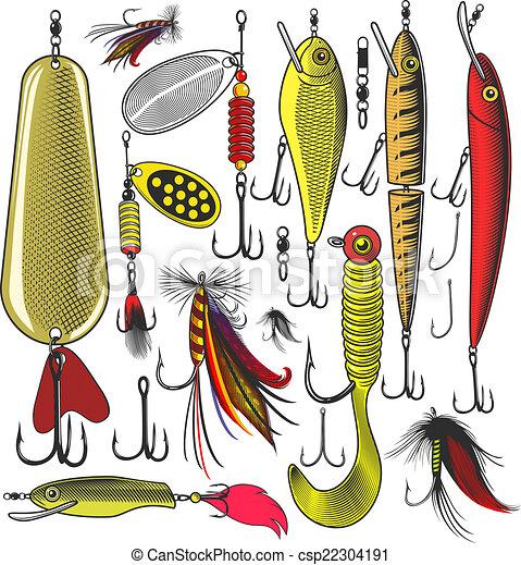 клипарт рыболовный