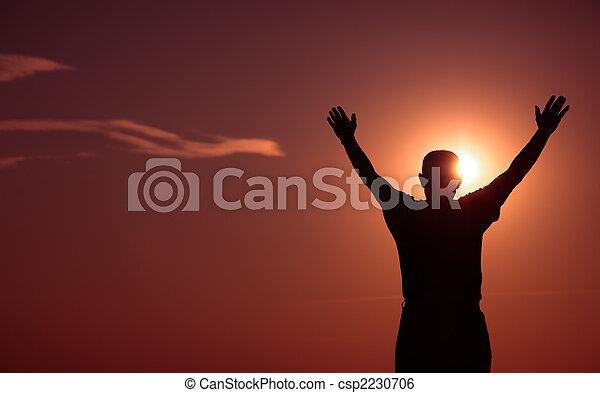 happy to live - csp2230706