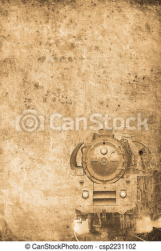 steam locomotive - csp2231102