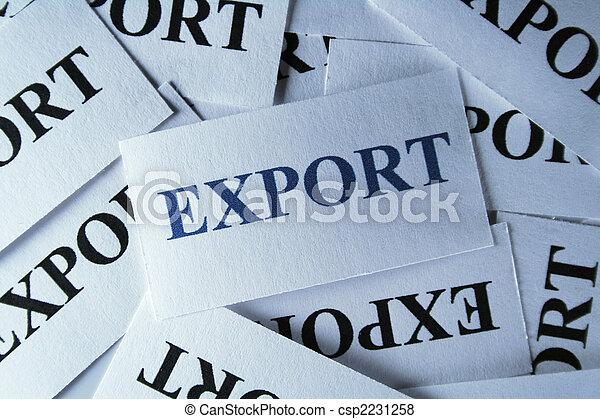 Export - csp2231258