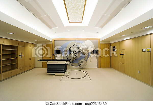 Linear Accelerator in a new Oncology Treatment room