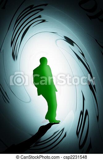 person under pressure - csp2231548