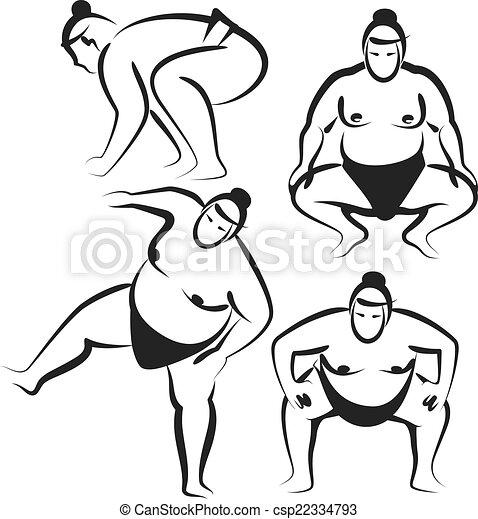 japan-sumo-drawing-sketch-1.jpg Photo by danandtay2008 | Photobucket