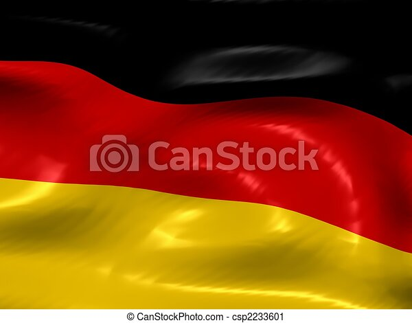 Flag of Germany - csp2233601