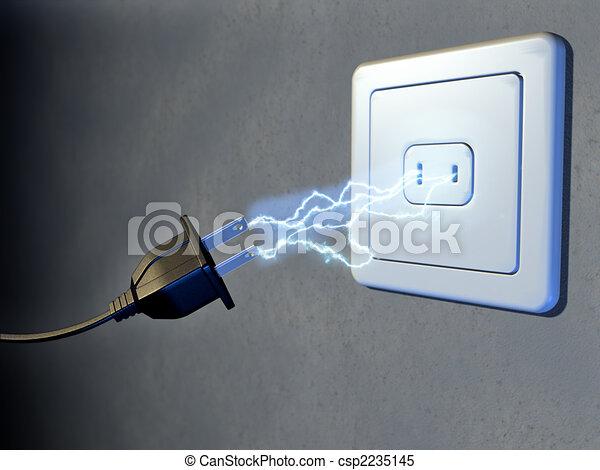 Electrical plug - csp2235145