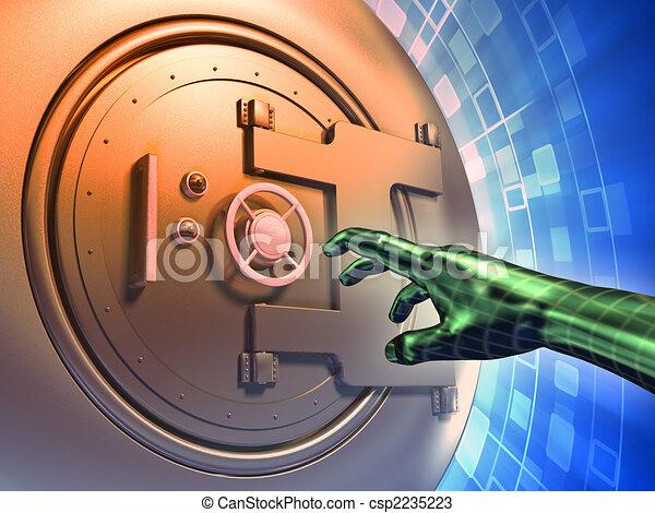 Online thief - csp2235223