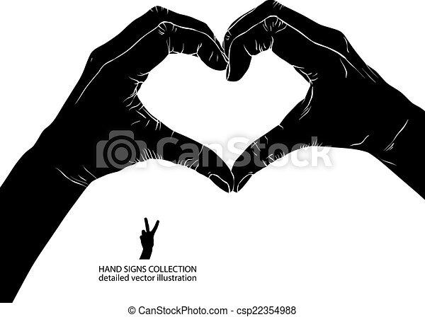 Vecteur de d taill coeur formulaire vecteur noir for Dessin graphique noir et blanc