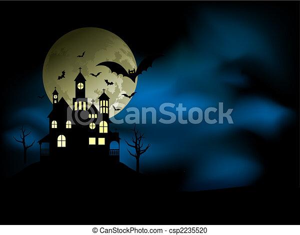 Spooky house - csp2235520