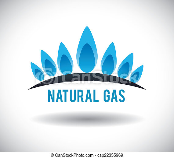 Clip art de vectores de gas dise o natural gas for Gas ciudad o gas natural