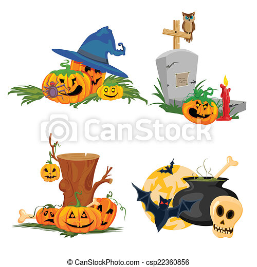 Halloween theme - csp22360856