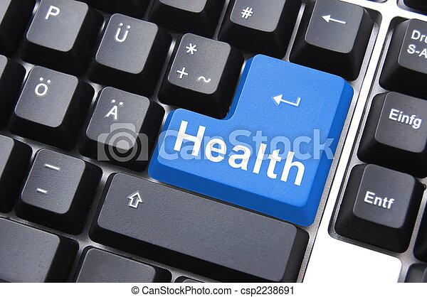 health button - csp2238691