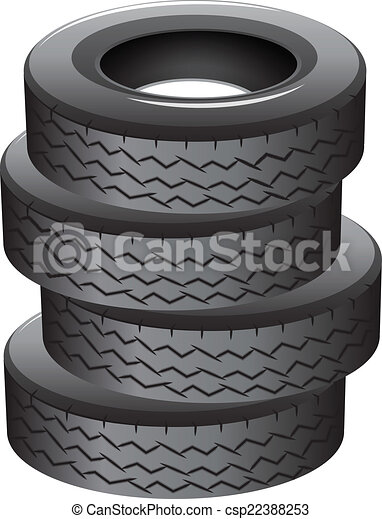 clipart vector of pile of tires illustration of a pile tires clip arts svg tire clip art vector