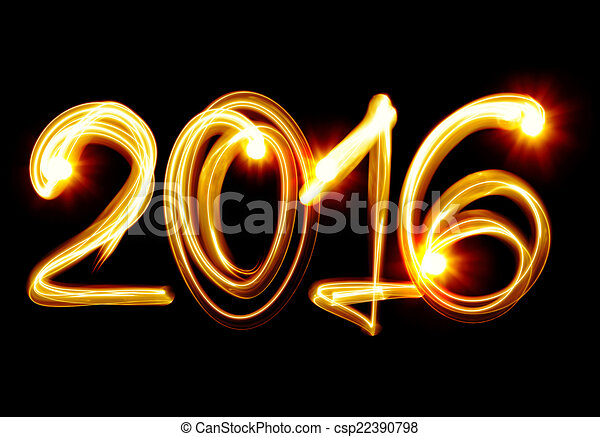 New Year 2016 - csp22390798
