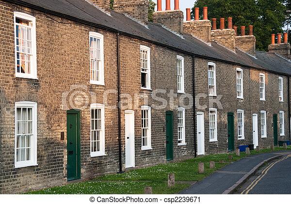 Terraced houses - csp2239671