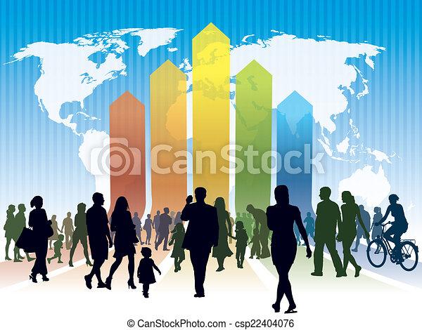 Global rat race - csp22404076