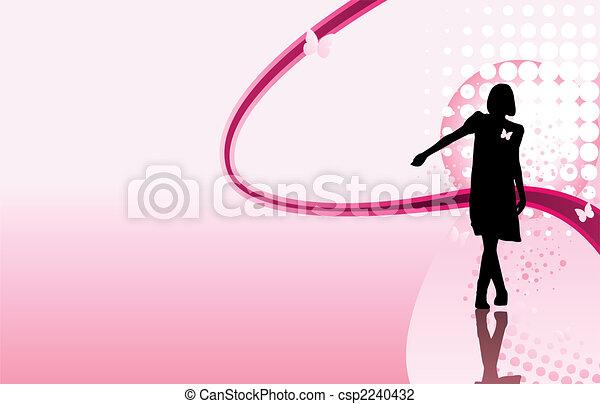 Girl Crossing Legs - csp2240432