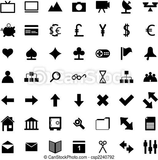 web icons set - csp2240792