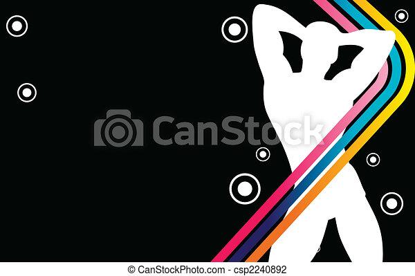 Boy Party Stripes - csp2240892