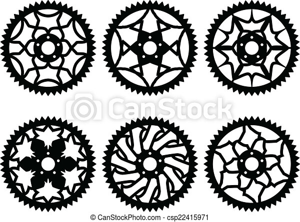 Vector chainrings pack - csp22415971