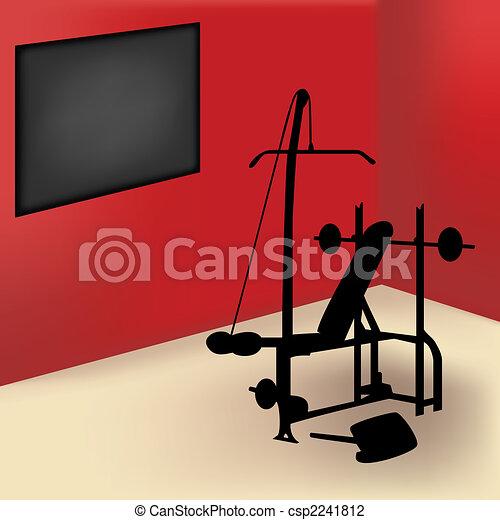 Gym Room - csp2241812