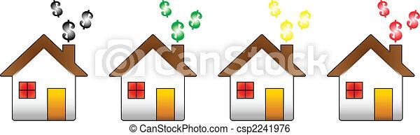 House Financial Crisis - csp2241976