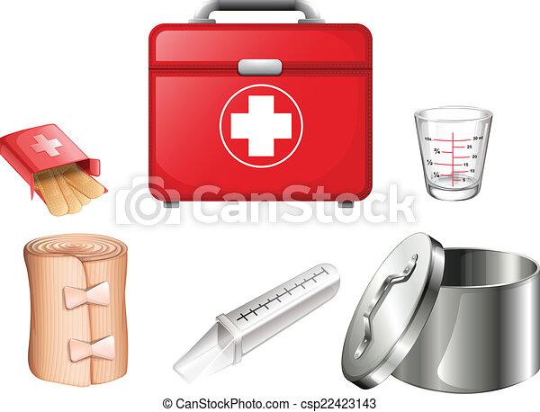 Medical supplies - csp22423143