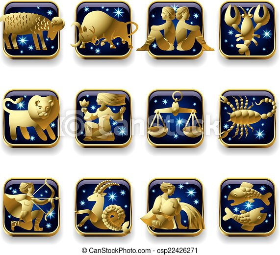 Zodiac signs - csp22426271